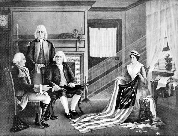 Patriotism「Vintage American Flags」:写真・画像(8)[壁紙.com]