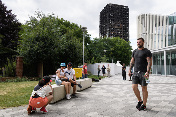 Tourism「Grenfell Tower Fire - One Month On」:写真・画像(0)[壁紙.com]