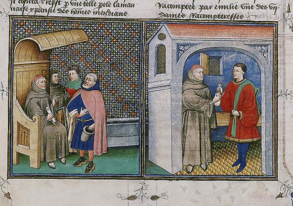 Nice - France「Corruption Miniature From Le Livre Appelle Decameron By Giovanni Boccaccio」:写真・画像(6)[壁紙.com]