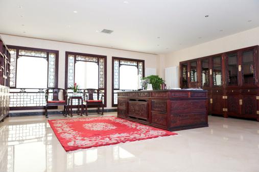 アンティーク「A Chinese executive's traditional-style office」:スマホ壁紙(11)