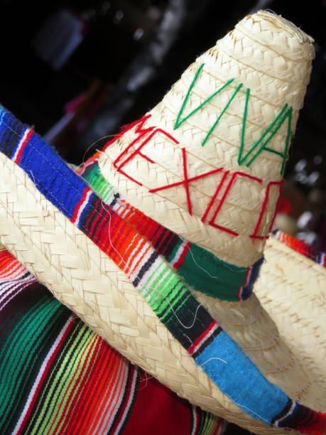 Viva Mexico written on Mexican Hat.:スマホ壁紙(壁紙.com)