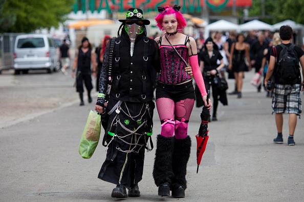 Gothic Style「Goths Gather In Leipzig For Annual Music Fest」:写真・画像(16)[壁紙.com]