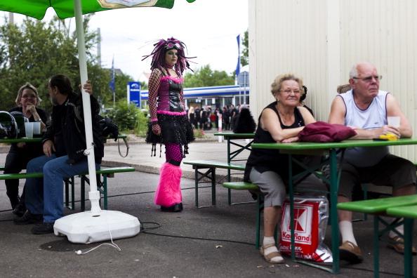 Gothic Style「Goths Gather In Leipzig For Annual Music Fest」:写真・画像(17)[壁紙.com]