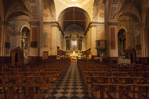 French Culture「Ajaccio Cathedral, nave」:スマホ壁紙(18)