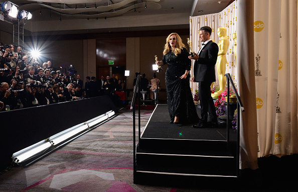 Adele - Singer「85th Annual Academy Awards - Press Room」:写真・画像(18)[壁紙.com]