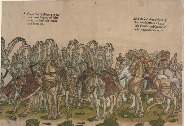 Illustration Technique「Ceremonial Procession In Bologna On 5 November 1529」:写真・画像(16)[壁紙.com]