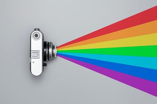 虹「Vintage camera」:スマホ壁紙(7)