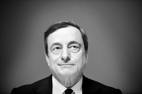 Seat of the European Central Bank「Mario Draghi Holds First Press Conference In New ECB Headquarters」:写真・画像(3)[壁紙.com]
