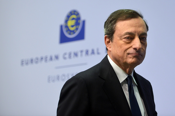 Seat of the European Central Bank「Mario Draghi Holds First Press Conference In New ECB Headquarters」:写真・画像(5)[壁紙.com]