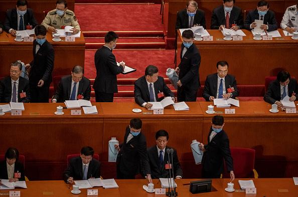 Leadership「China Holds Annual Two Sessions Meetings Amidst Global Coronavirus Pandemic」:写真・画像(15)[壁紙.com]