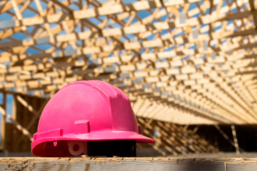 Equality「Pink Safety Hat on Construction Site」:スマホ壁紙(10)