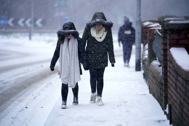 Storm Emma Meets The Beast From The East Bringing Further Snow Chaos To The UK:ニュース(壁紙.com)