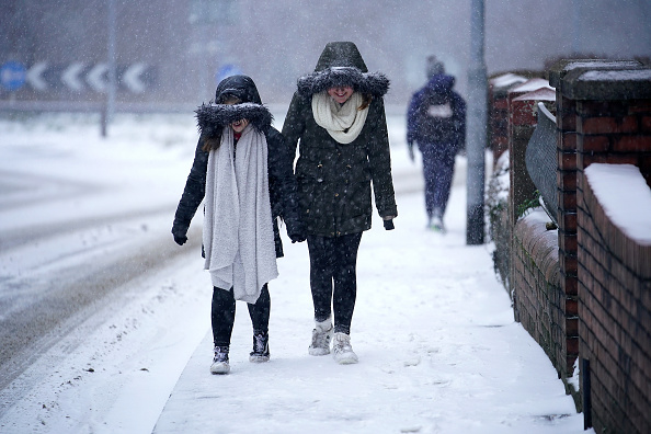 Snow「Storm Emma Meets The Beast From The East Bringing Further Snow Chaos To The UK」:写真・画像(0)[壁紙.com]