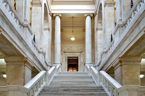 リトルロック「アーカンソー州議会議事堂のインテリア」:スマホ壁紙(10)