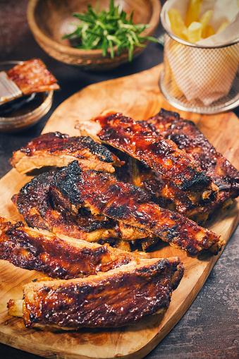 Picnic「Barbecue Pork Ribs」:スマホ壁紙(0)