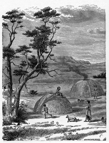 1900「Domed earth-houses of Pacific tribes」:写真・画像(5)[壁紙.com]