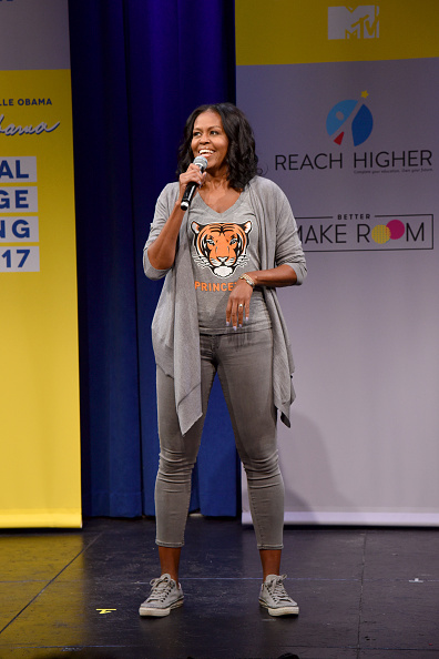 Photography「MTV's 2017 College Signing Day With Michelle Obama - Inside」:写真・画像(9)[壁紙.com]