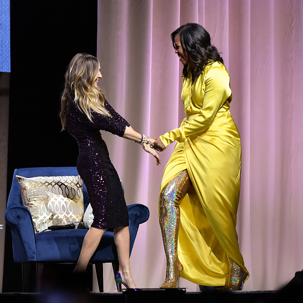 "Brooklyn - New York「Michelle Obama Discusses Her New Book ""Becoming"" With Sarah Jessica Parker」:写真・画像(16)[壁紙.com]"