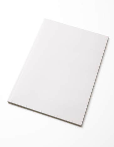 Book「Isolated shot of closed blank magazine on white background」:スマホ壁紙(13)