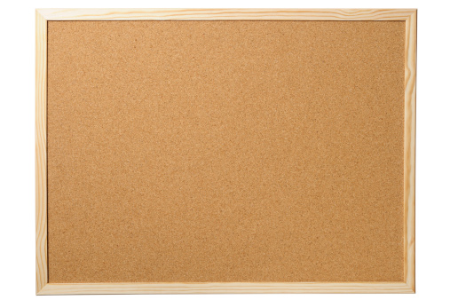 Frame - Border「Isolated shot of blank cork board on white background」:スマホ壁紙(0)