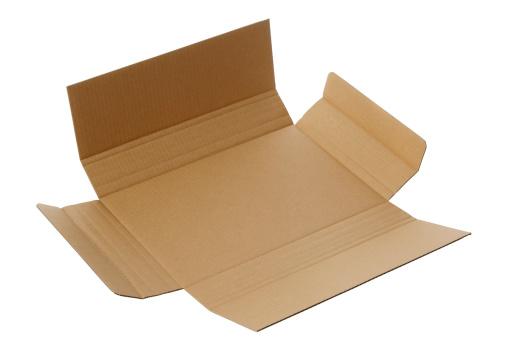 Gift「隔離された空白の白い背景に段ボール箱」:スマホ壁紙(16)
