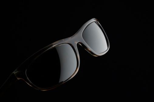 Eyewear「Isolated shot o Sunglasses on black background」:スマホ壁紙(16)
