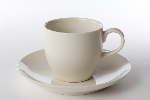 Ceramics「Isolated shot of white coffee cup on white background」:スマホ壁紙(11)