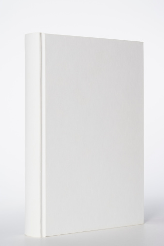 Diary「Isolated shot of white blank book on white background」:スマホ壁紙(12)