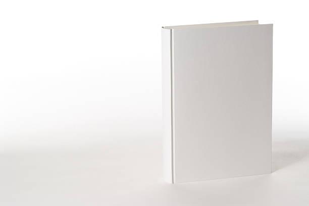 Isolated shot of white blank book on white background:スマホ壁紙(壁紙.com)