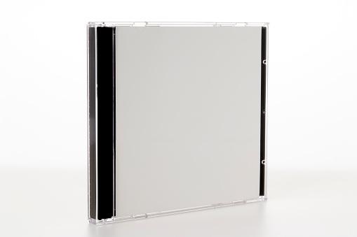 DVD「Isolated shot of blank plastic CD case on white background」:スマホ壁紙(15)