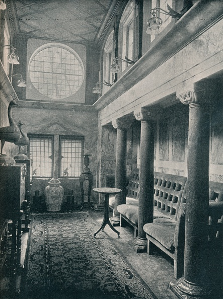 Rug「Marble Hall at No 1 Holland Park, 1898. Artist: Philip Webb」:写真・画像(6)[壁紙.com]