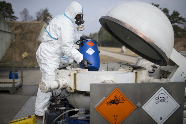 Chemical「German Company To Destroy Syrian Chemical Weapons」:写真・画像(13)[壁紙.com]
