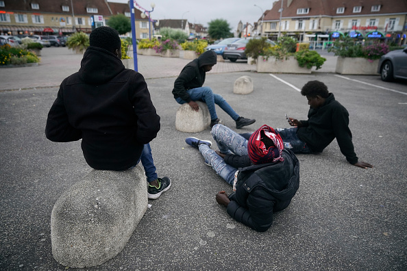 Ferry「Migrants Try New Crossing From France To The UK」:写真・画像(15)[壁紙.com]