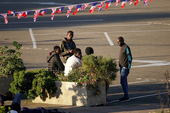 Ferry「Migrants Try New Crossing From France To The UK」:写真・画像(0)[壁紙.com]
