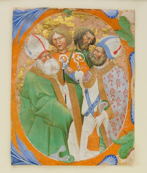 Topics「Manuscript Illumination With Four Saints In An Initial O」:写真・画像(14)[壁紙.com]