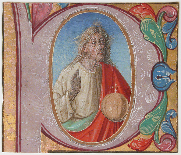 P「Manuscript Illumination With Salvator Mundi In An Initial P」:写真・画像(19)[壁紙.com]
