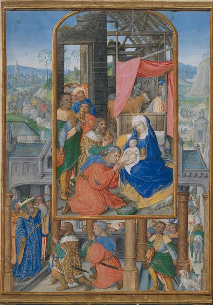 Tempera Painting「Manuscript Illumination With Adoration Of The Magi」:写真・画像(14)[壁紙.com]