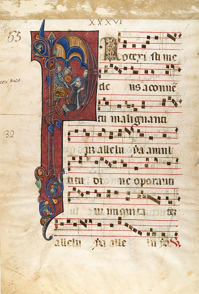 P「Manuscript Leaf With The Martyrdom Of Saint Peter Martyr In An Initial P...」:写真・画像(1)[壁紙.com]
