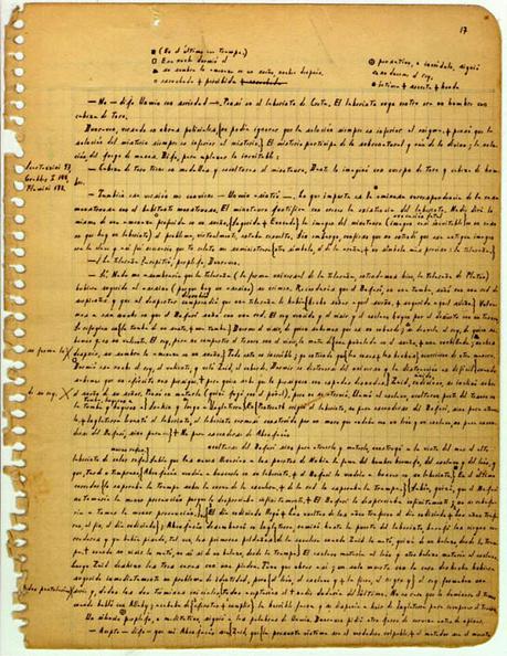 Manuscript「manuscript page by argentinian writer Jorge Luis Borges 1951」:写真・画像(16)[壁紙.com]