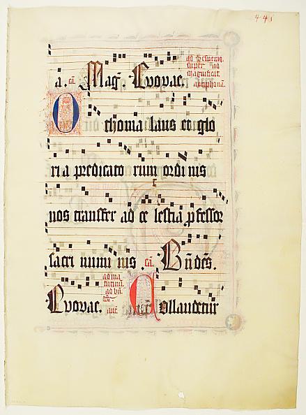Tempera Painting「Manuscript Leaf」:写真・画像(0)[壁紙.com]