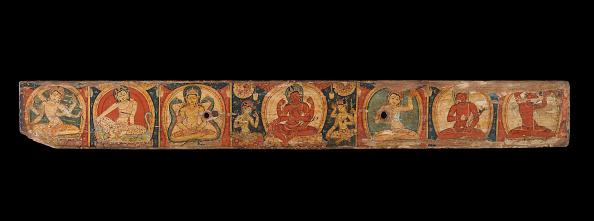Black Background「Manuscript Cover With Avalokiteshvara (The Bodhisattva Of Infinite Compassion)」:写真・画像(8)[壁紙.com]