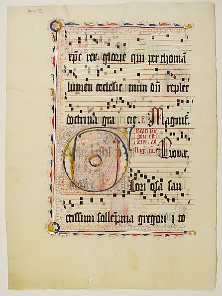 F「Manuscript Leaf With Initial F」:写真・画像(9)[壁紙.com]