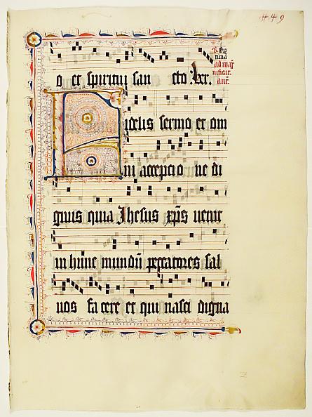 F「Manuscript Leaf With Initial F」:写真・画像(10)[壁紙.com]