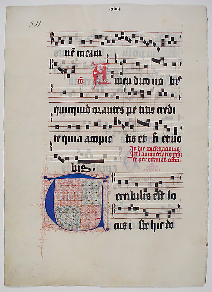 T 「Manuscript Leaf With Initial T」:写真・画像(6)[壁紙.com]