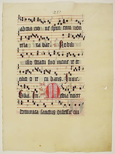 M「Manuscript Leaf With Initial M」:写真・画像(6)[壁紙.com]