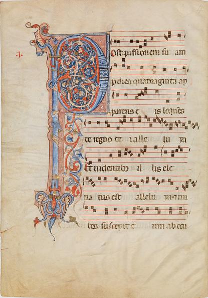 P「Manuscript Leaf With Foliated Initial P」:写真・画像(2)[壁紙.com]