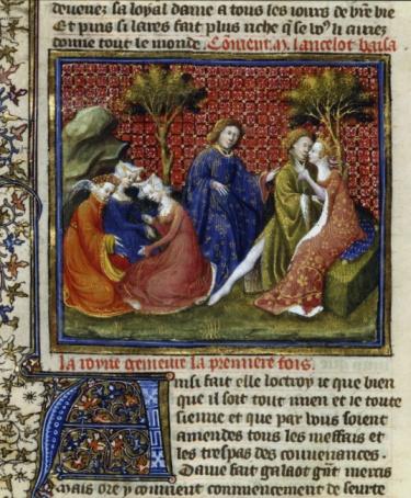 Manuscript「Manuscript art depicting Sir Lancelot」:スマホ壁紙(7)