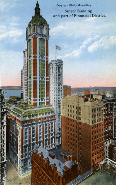 City Life「New York: Singer Building」:写真・画像(18)[壁紙.com]