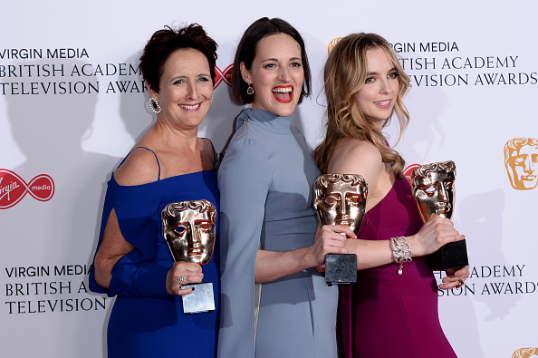 Best supporting actress prize「Virgin Media British Academy Television Awards 2019 - Press Room」:写真・画像(9)[壁紙.com]
