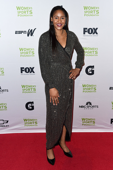 Maya Moore「The Women's Sports Foundation's 38th Annual Salute To Women In Sports Awards Gala  - Arrivals」:写真・画像(1)[壁紙.com]
